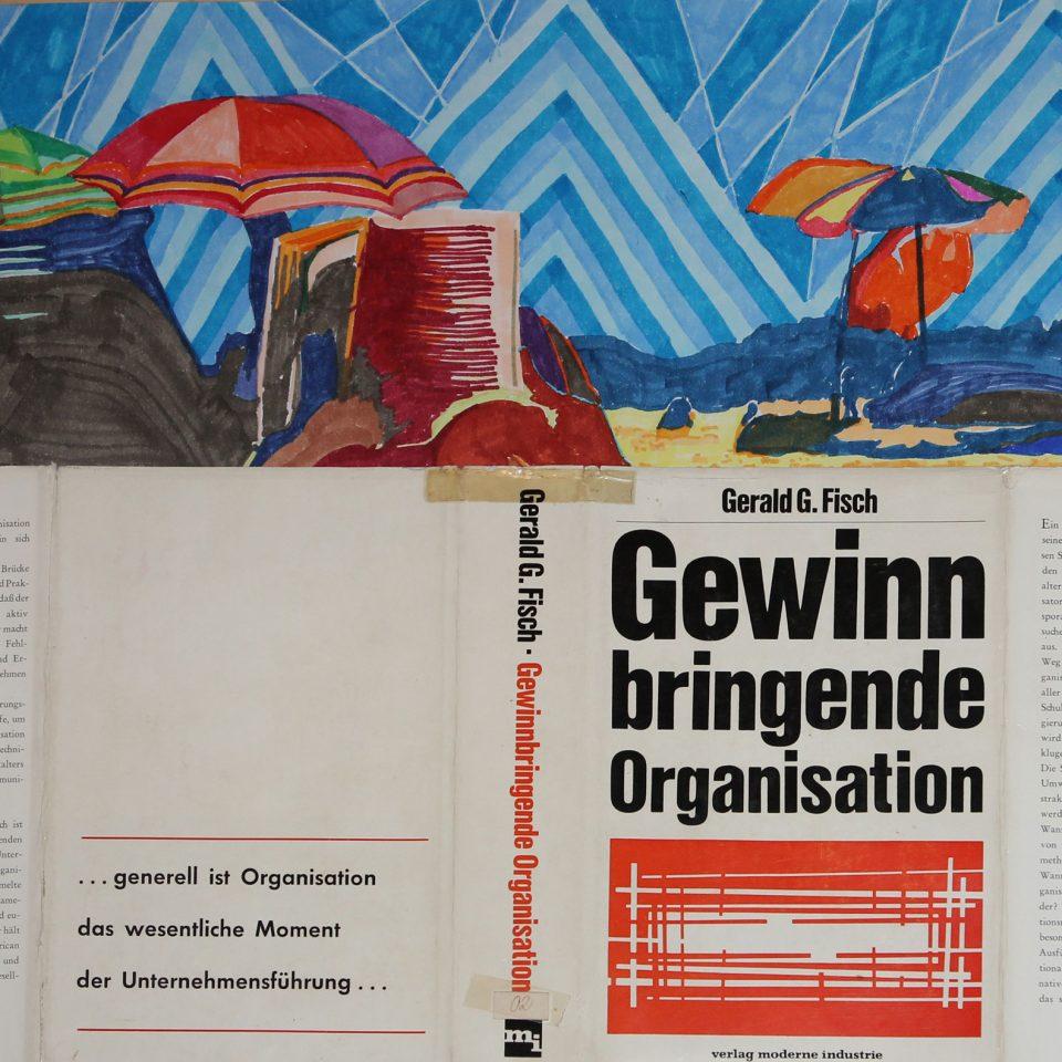 2015 | Gewinnbringende Organisation | Pigmentmarker, Bucheinband, Papier | Johannes Karl