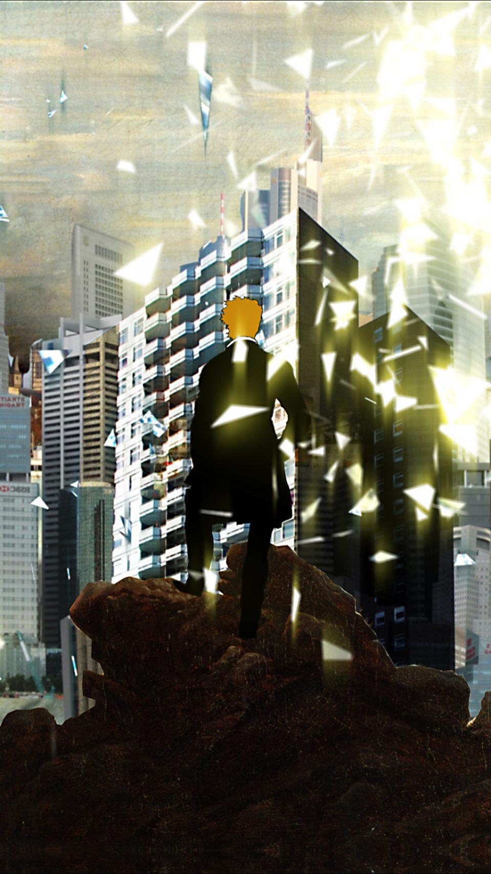 Der Wanderer | Johannes Karl | Videoanimation | Full-HD, Portrait | loop | 2012